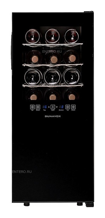 Винный шкаф Dunavox DX-24.68DSC