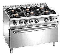 Плита газовая Apach Chef Line GLRRG129FEXXL