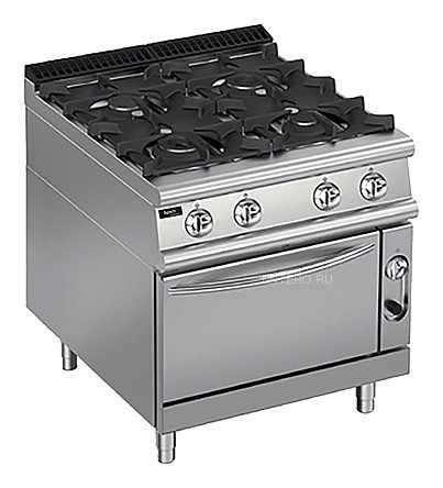 Плита газовая Apach Chef Line LRG87FE