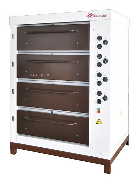 Печь хлебопекарная Восход ХПЭ-750/4 в обрешетке