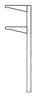 Суперструктура односторонняя Levin ARTICA 250