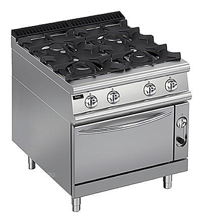 Плита газовая Apach Chef Line LRG89FE