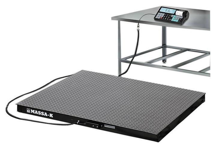 Весы напольные МАССА-К 4D-PM-1-500-RC