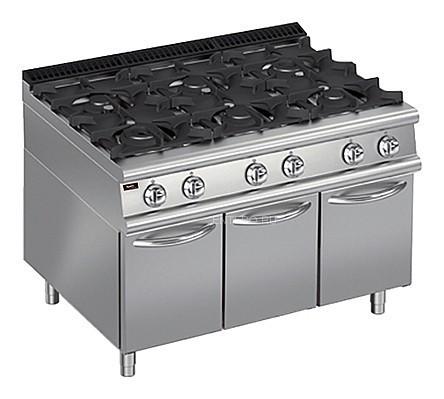 Плита газовая Apach Chef Line LRG129CS PLUS