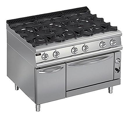 Плита газовая Apach Chef Line LRG129FGCS