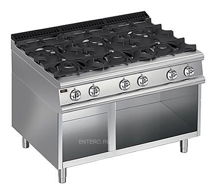 Плита газовая Apach Chef Line LRG127OS