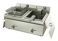 Фритюрница ATESY Таверна-2005 2-секционная, 600 мм