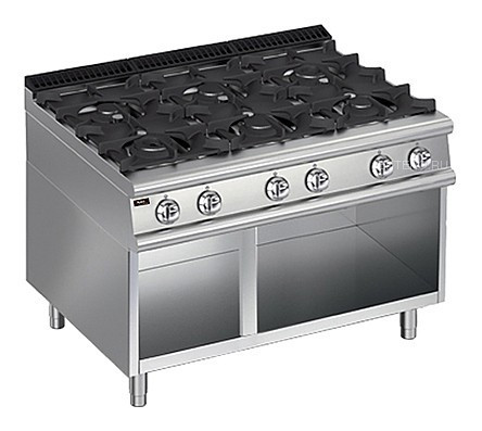 Плита газовая Apach Chef Line LRG129OS