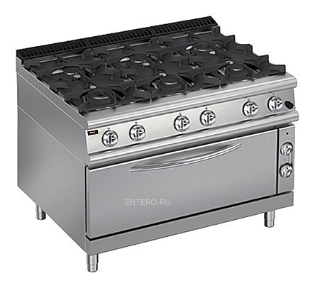 Плита газовая Apach Chef Line LRG127FG PLUS