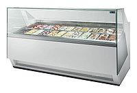Витрина для мороженого ISA Diva 120+50 Combi H140