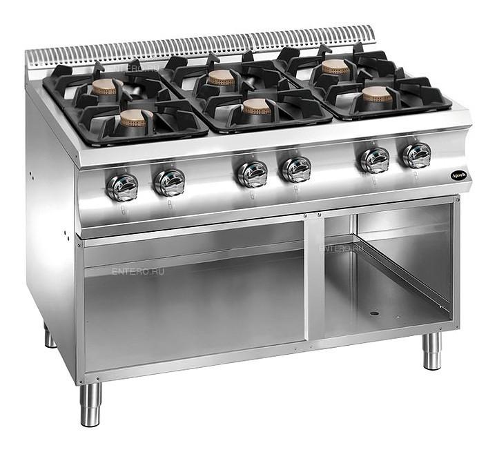 Плита газовая Apach Chef Line GLRRG117OS