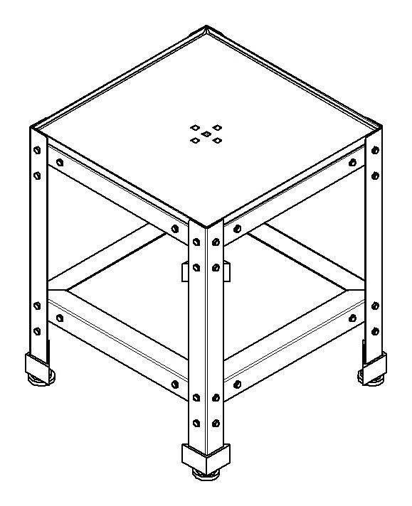 Подставка ITERMA СП-200-792/870/700-01 ITFORNO / Tecnoeka Ш430