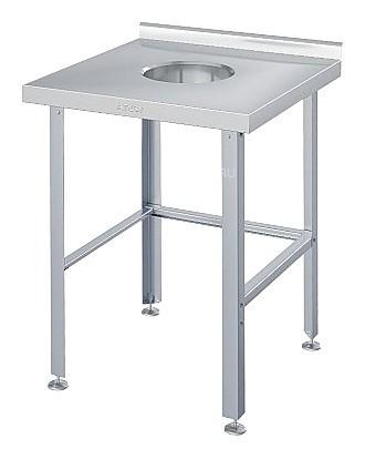 Стол для сбора отходов ATESY СРО-С-1-600.600-02