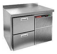 Стол холодильный HICOLD GN 2 BR2 TN (внутренний агрегат)