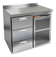 Стол холодильный HICOLD GN 3 BR2 TN (внутренний агрегат)