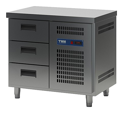 Стол холодильный ТММ СХСБ-1/3Я (945x600x870) (внутренний агрегат)