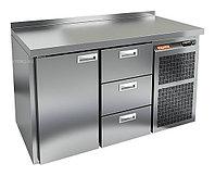 Стол морозильный HICOLD GN 13 BR2 BT (внутренний агрегат)