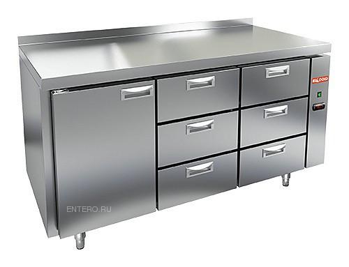 Стол холодильный HICOLD GN 133/TN P (выносной агрегат)