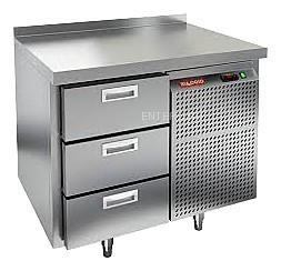 Стол морозильный HICOLD GN 3/BT (внутренний агрегат)