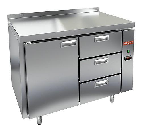 Стол холодильный HICOLD GN 13/TN P (выносной агрегат)