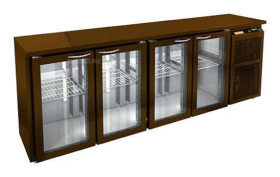 Стол холодильный барный HICOLD BNG 1111 BR2 HT BAR (внутренний агрегат)