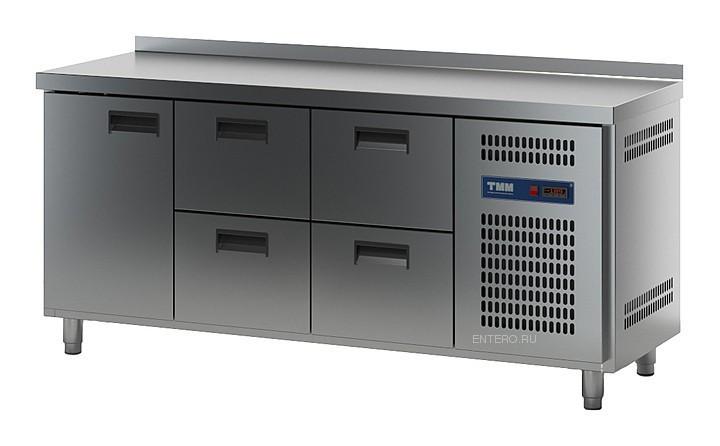 Стол холодильный ТММ СХСБ-К-2/1Д-4Я (1835x700x870) (внутренний агрегат)
