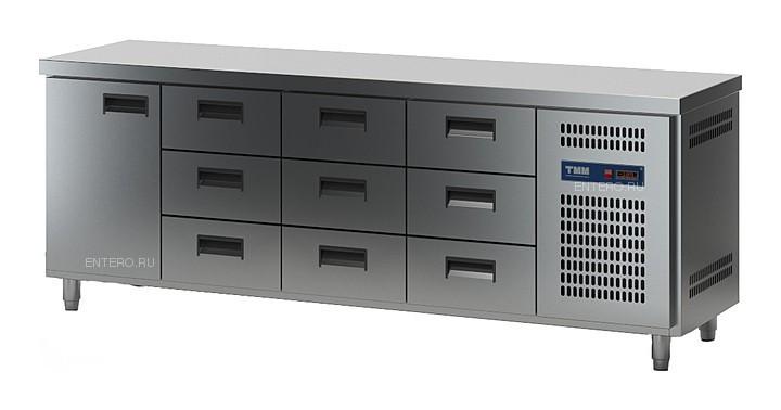 Стол холодильный ТММ СХСБ-1/1Д-9Я (2280x600x870) (внутренний агрегат)