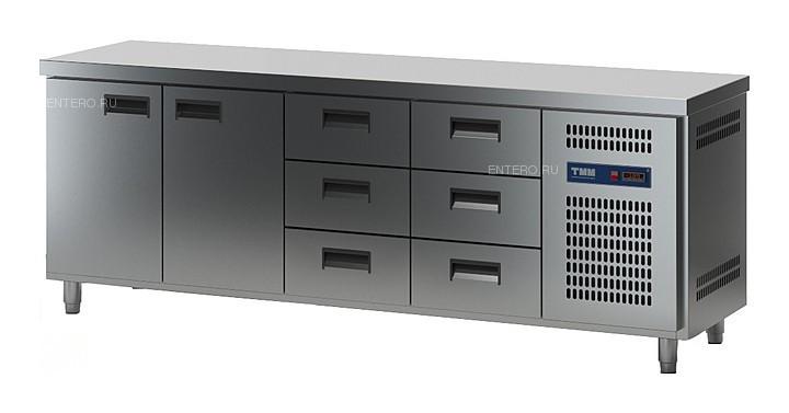 Стол холодильный ТММ СХСБ-2/2Д-6Я (2280x600x870) (внутренний агрегат)