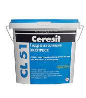 Эластичная гидроизоляционная мастика под плиточные облицовки Ceresit CL 51