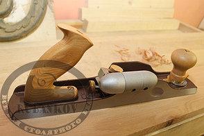 Рубанок Dictum N62, 350мм/50мм/12град, с ручкой HotDog для левого борта