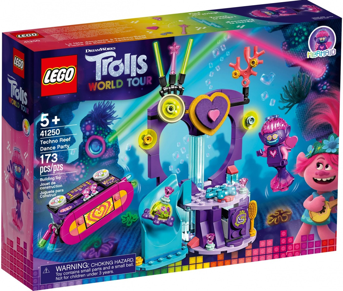 41250 Lego Trolls Вечеринка на Техно-рифе, Лего Тролли