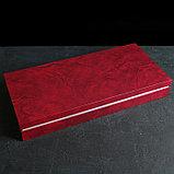 Набор столовых приборов «Торжество», 60 предметов, толщина 2 мм, декоративная коробка, фото 9