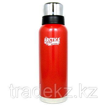 Термос ARCTICA, объем 1.2 л., красный, фото 2