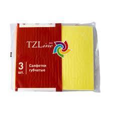 Салфетки губчатые 3 шт. TZLine