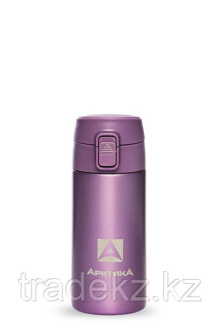 Термос ARCTICA DRINK объем 0.35 л., пурпурный, фото 2
