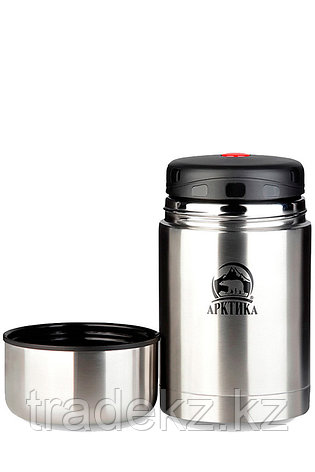Термос АRСTIСA FOOD, объем 1 л., металлик, фото 2