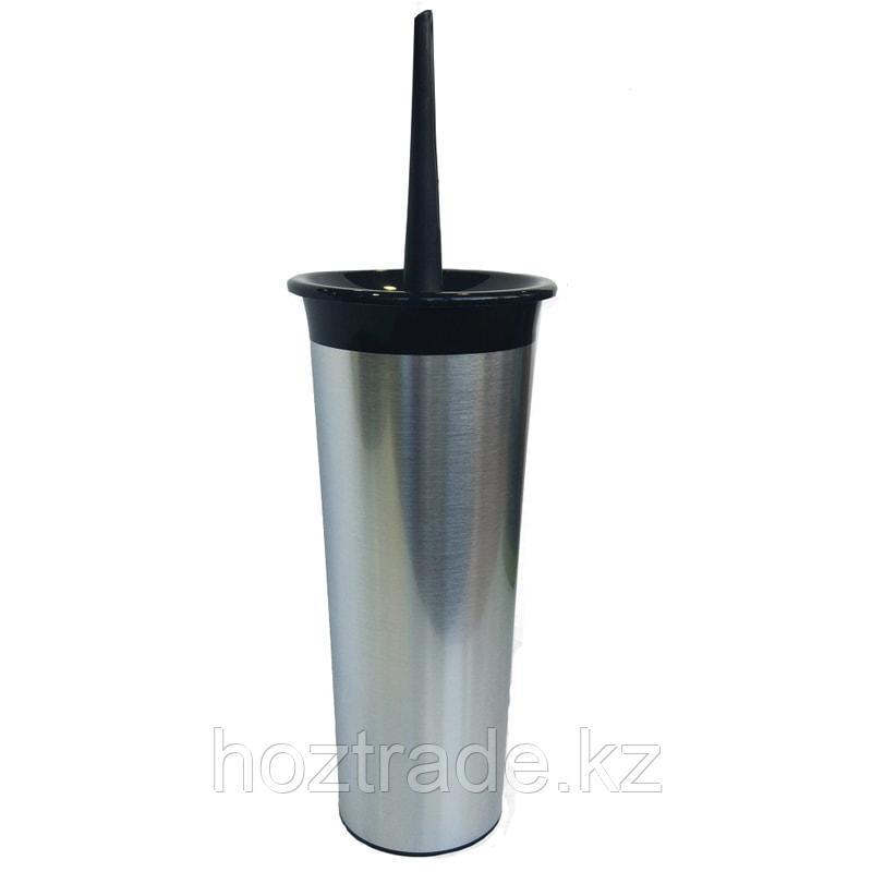 Ерш для унитаза с высоким стаканом Svip 11.5 х 36.5 см, металлик