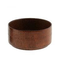 Деревянная чаша для бритья для мыльного раствора