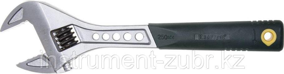 Ключ разводной Tiger, 250 / 35 мм, KRAFTOOL, фото 2