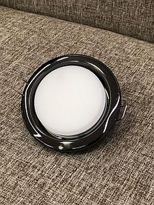 Светильник Gx53 черный хром