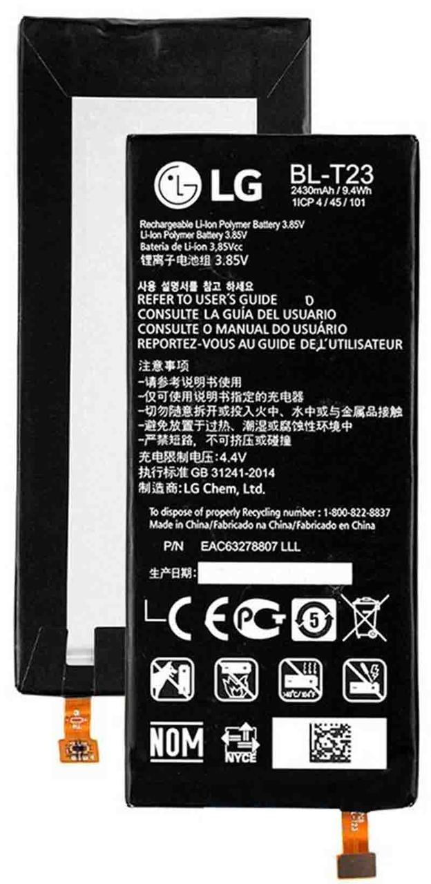 Заводской аккумулятор для LG X Cam K580DS (BL-T23, 2520mAh)