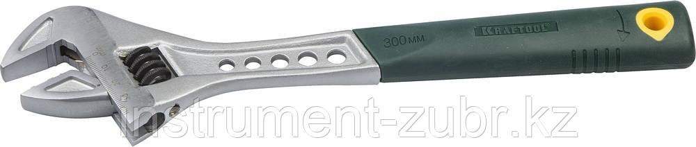 Ключ разводной Tiger, 300 / 40 мм, KRAFTOOL