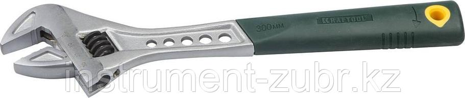 Ключ разводной Tiger, 300 / 40 мм, KRAFTOOL, фото 2