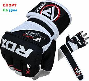 Перчатки шингарты для боевых искусств RDX Размер S, (цвет черно- белый)