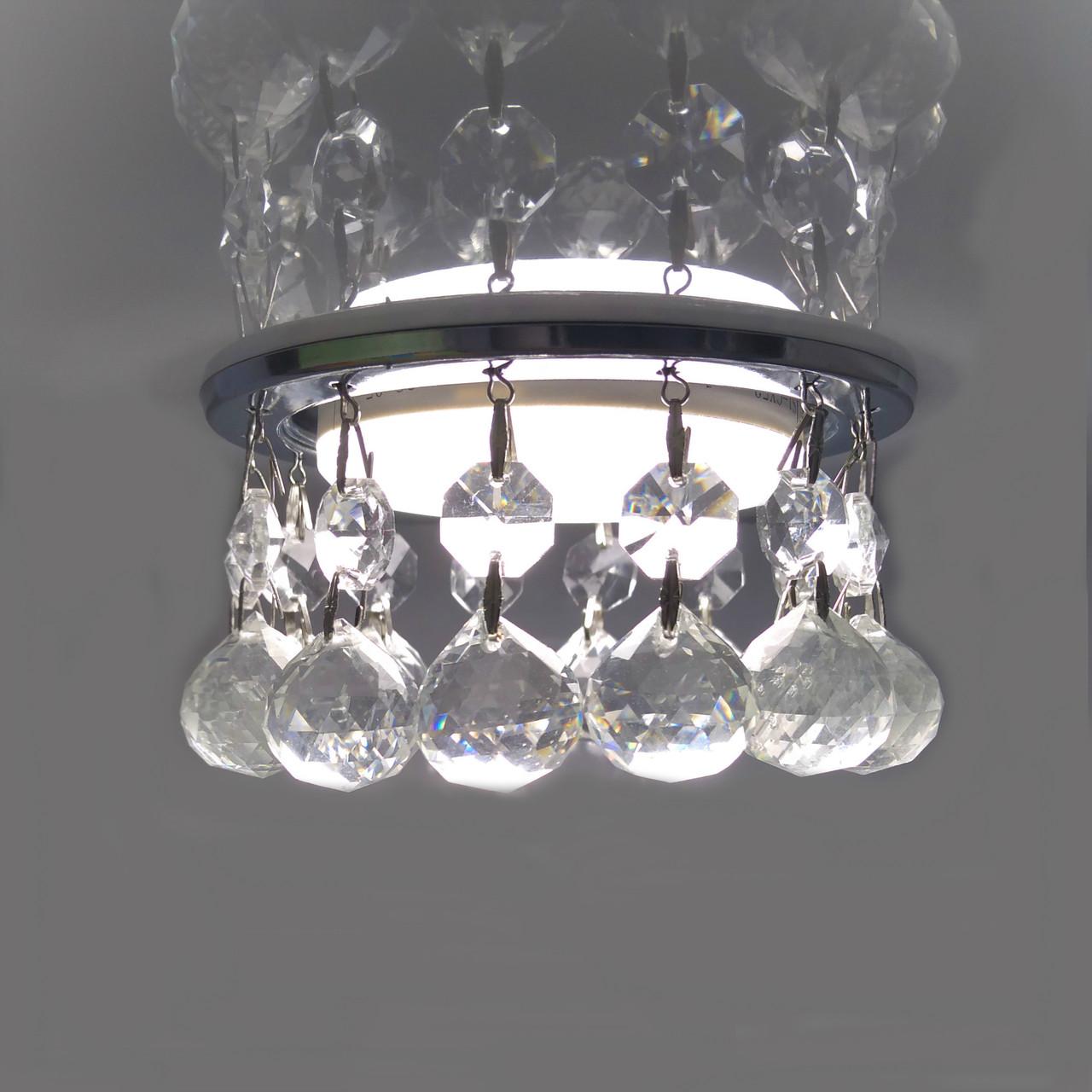 Светильник GX53 L 139 хром