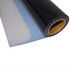 Термо флекс 0,5мх25м PU голографический черный, фото 2