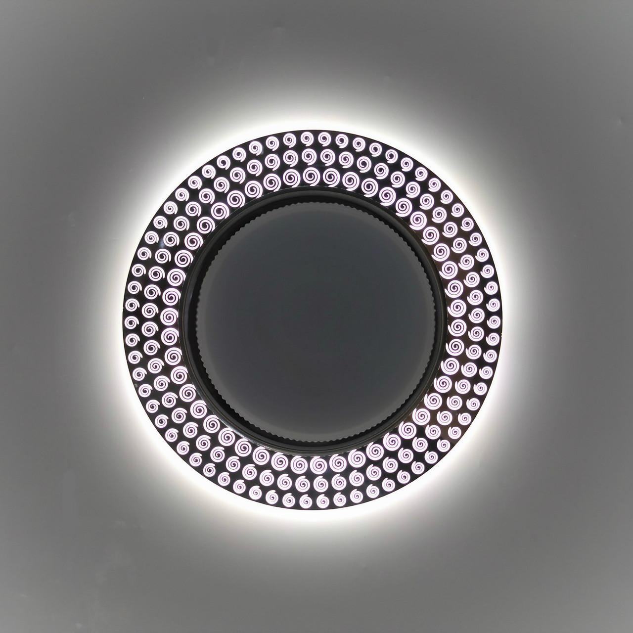 Светильник GX53 Акрил 2 + подсветка