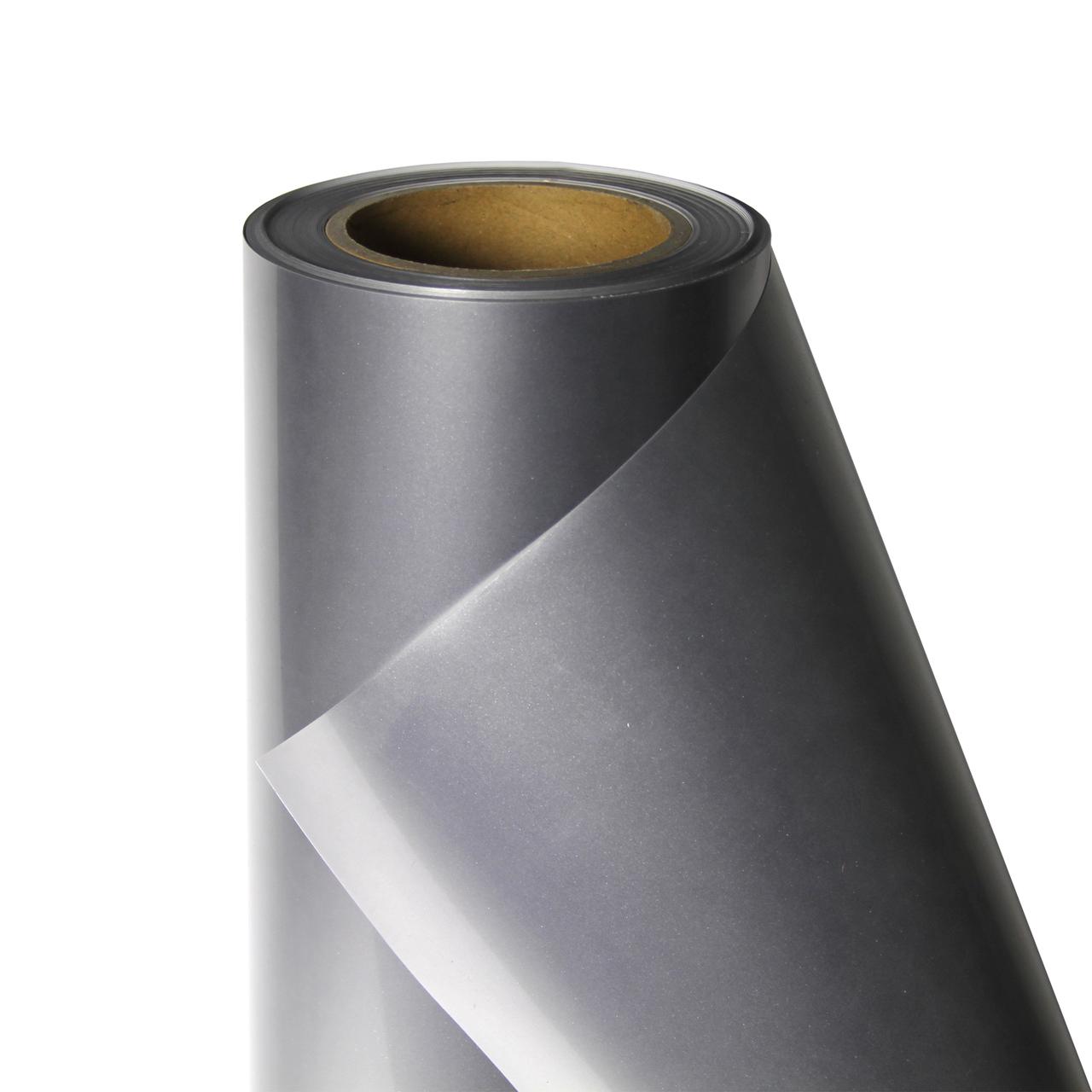 Термо флекс 0,5мх25м PU серебро глянец