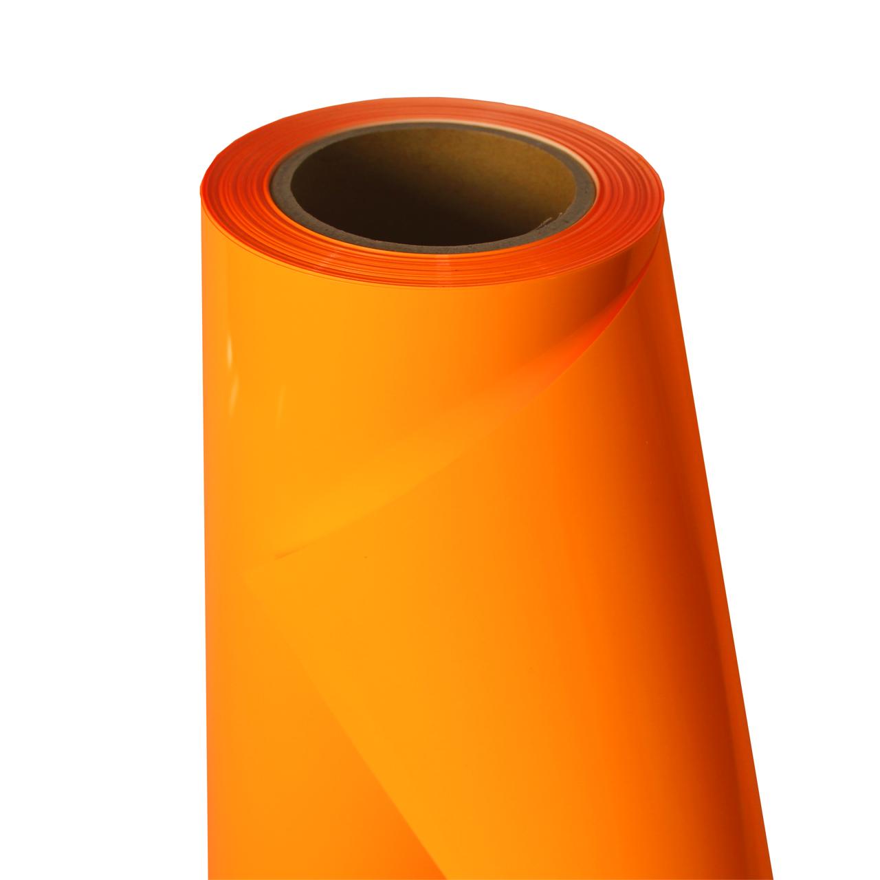 Термо флекс 0,5мх25м PU флуоресцентный оранжевый