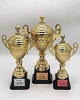 Спортивные кубки комплект 1,2,3 место